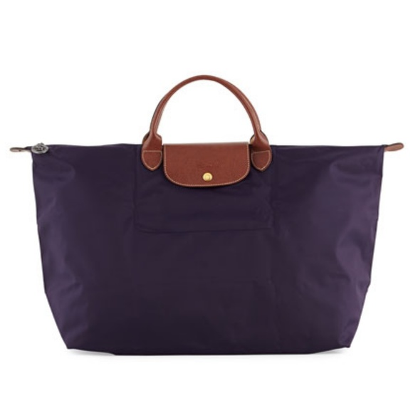 9757228d9a6 Longchamp Bags   Host Pick New Purple Bag   Poshmark
